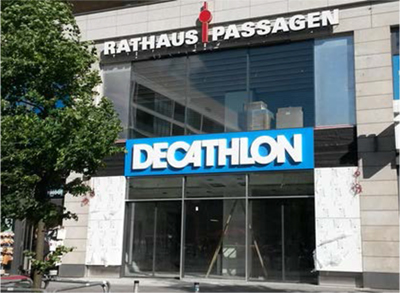 Decathlon in Berlin